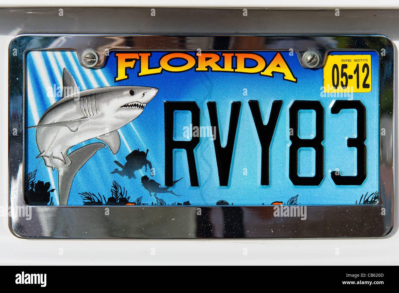 Florida License Plate Stockfotos & Florida License Plate Bilder - Alamy