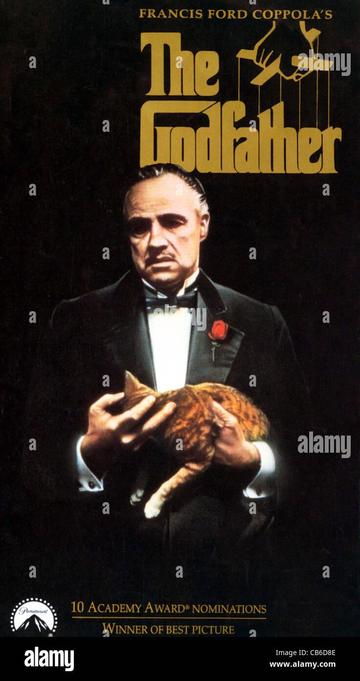 The Godfather Movie Poster Stockfotos The Godfather Movie