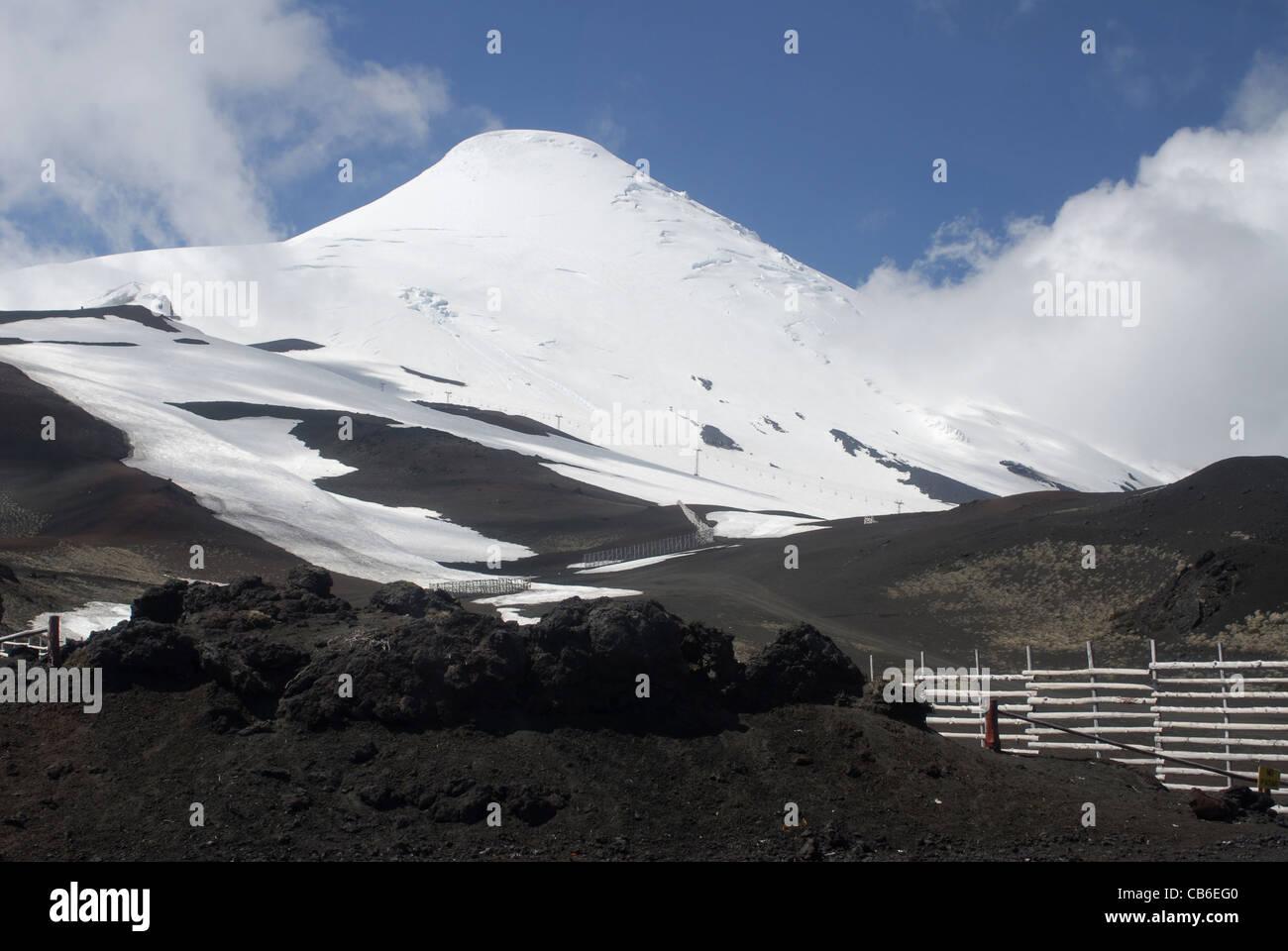 Osorno Vulcano. Nationalpark Vicente Perez Rosales, Lake District, Chile Stockbild