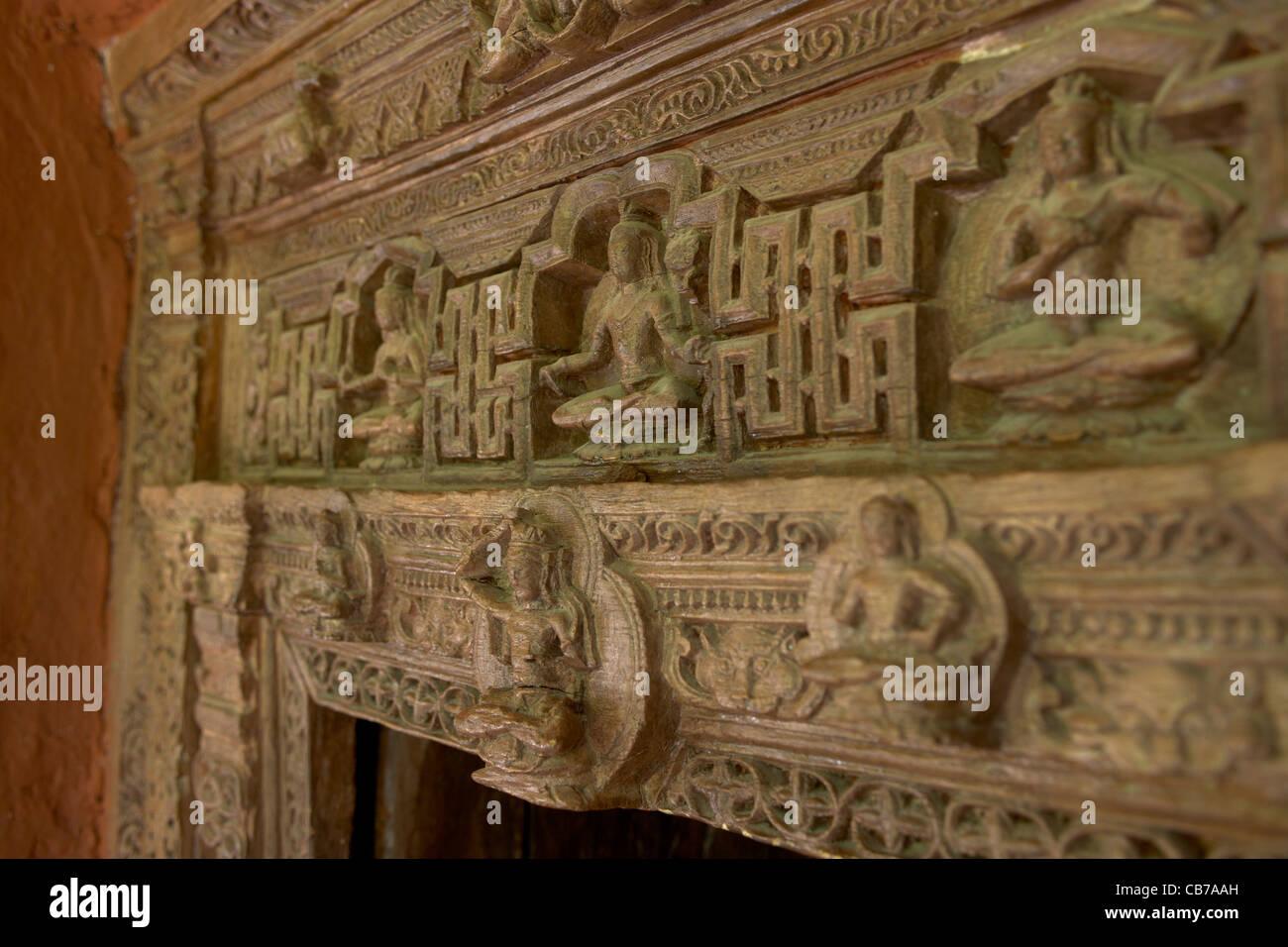 Wooden Door Frame Stockfotos & Wooden Door Frame Bilder - Alamy