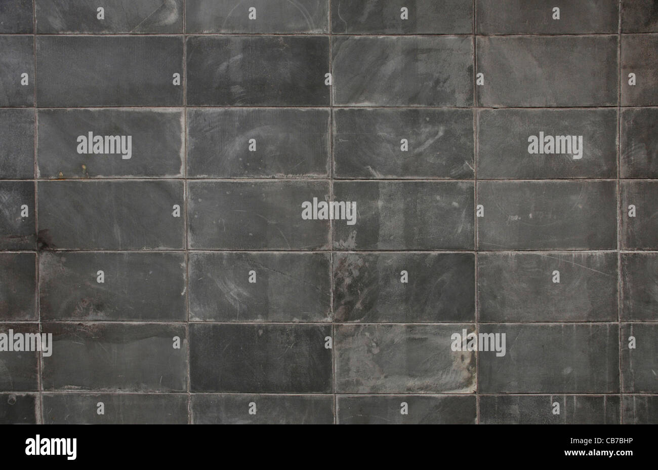 Dunklen grauen Block Wand Textur Oberfläche Hintergrund Stockbild