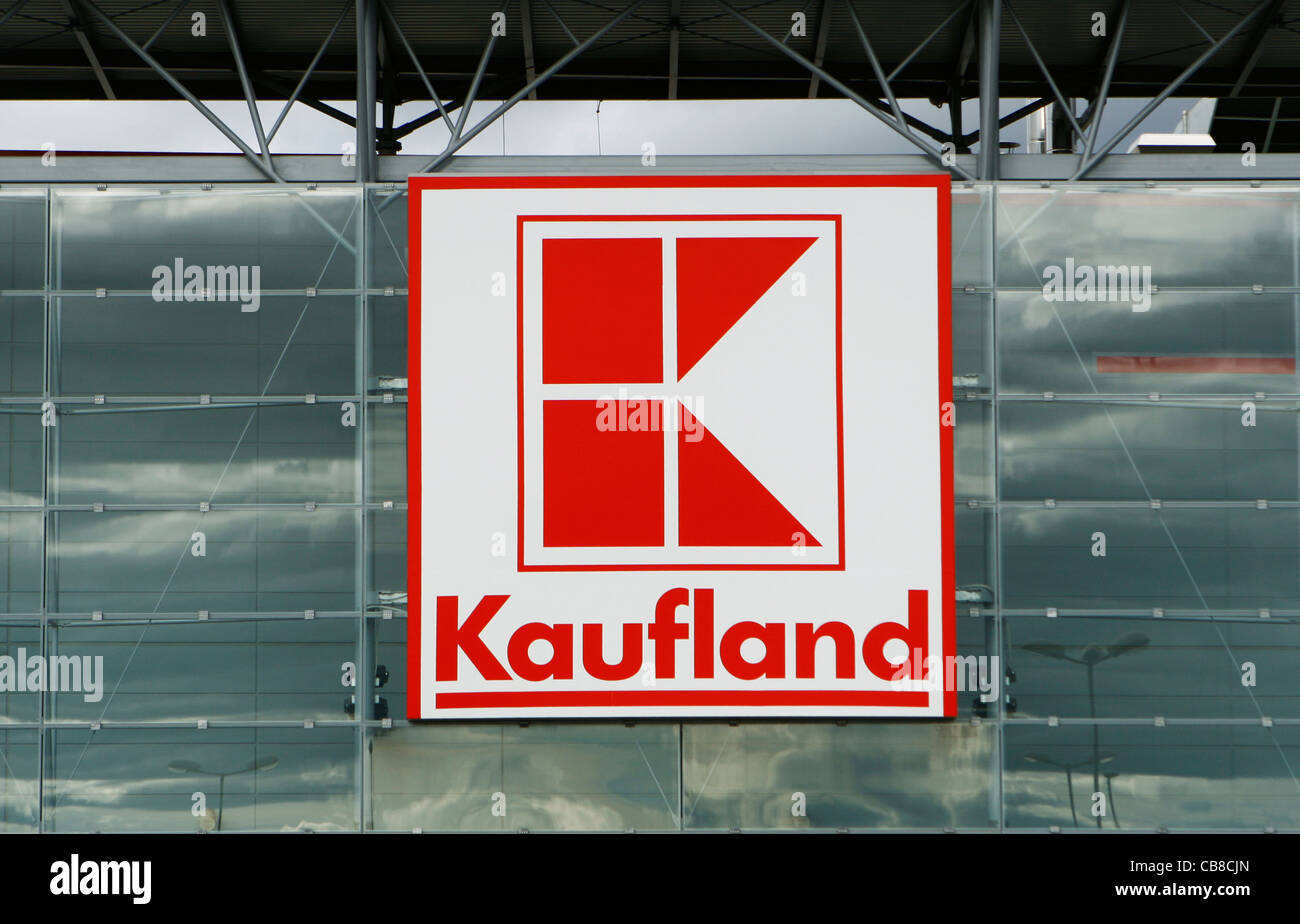 Kaufland Logo Sing Firma Geschäft Supermarkt Sb Warenhaus