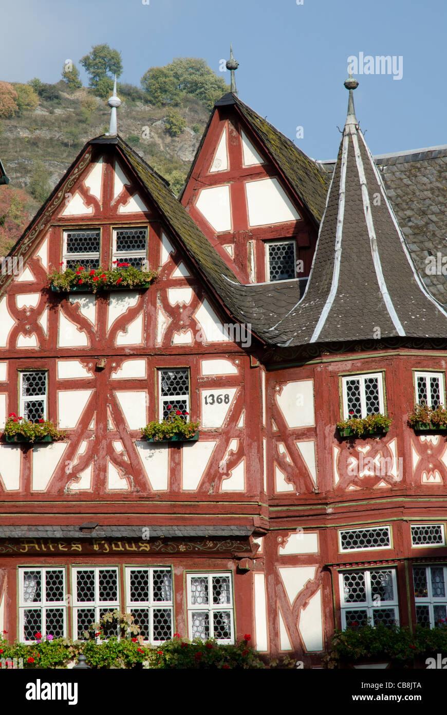 Fachwerk Fachwerkhaus in Bacharach, Rheinland-Pfalz ...