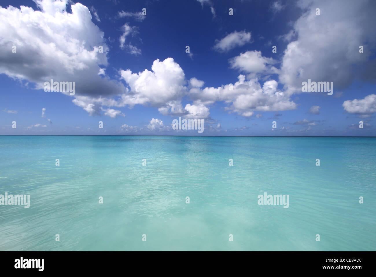 Kleine Ffryes Strand, Antigua, West Indies Stockbild