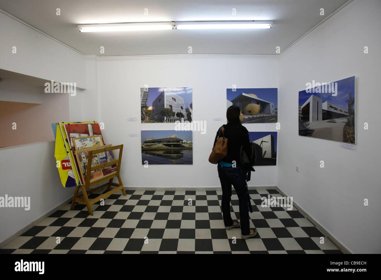 Fotografien Bauhaus Gebäude In Tel Aviv Im Bauhaus Shop In Dizengoff