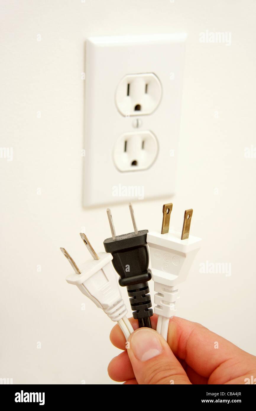 Energie Verbrauch Stockbild