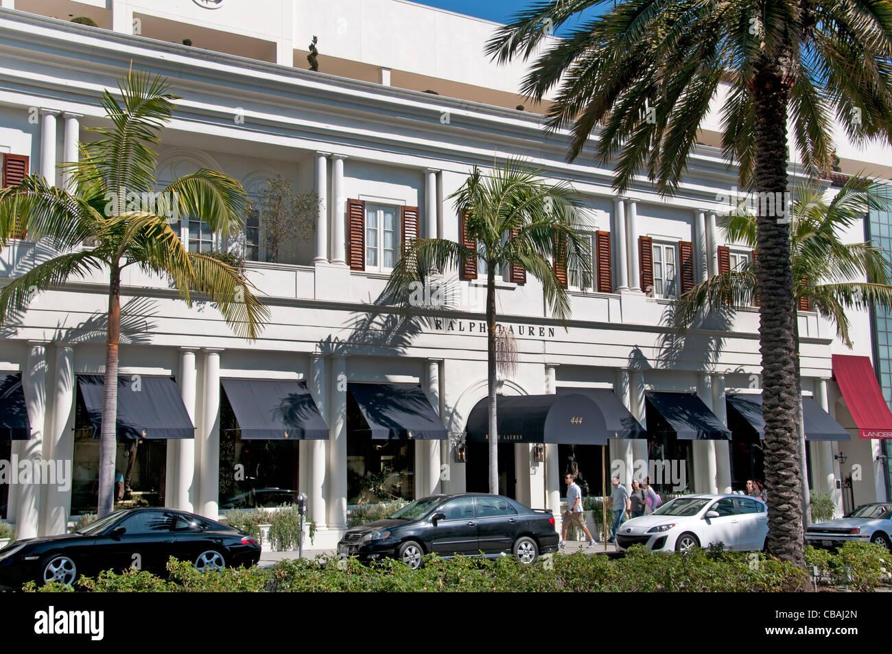 Rodeo Drive Ralph Lauren Shop Mode Boutiquen Geschäfte Beverly Hills-Los  Angeles-Kalifornien- 336007e135