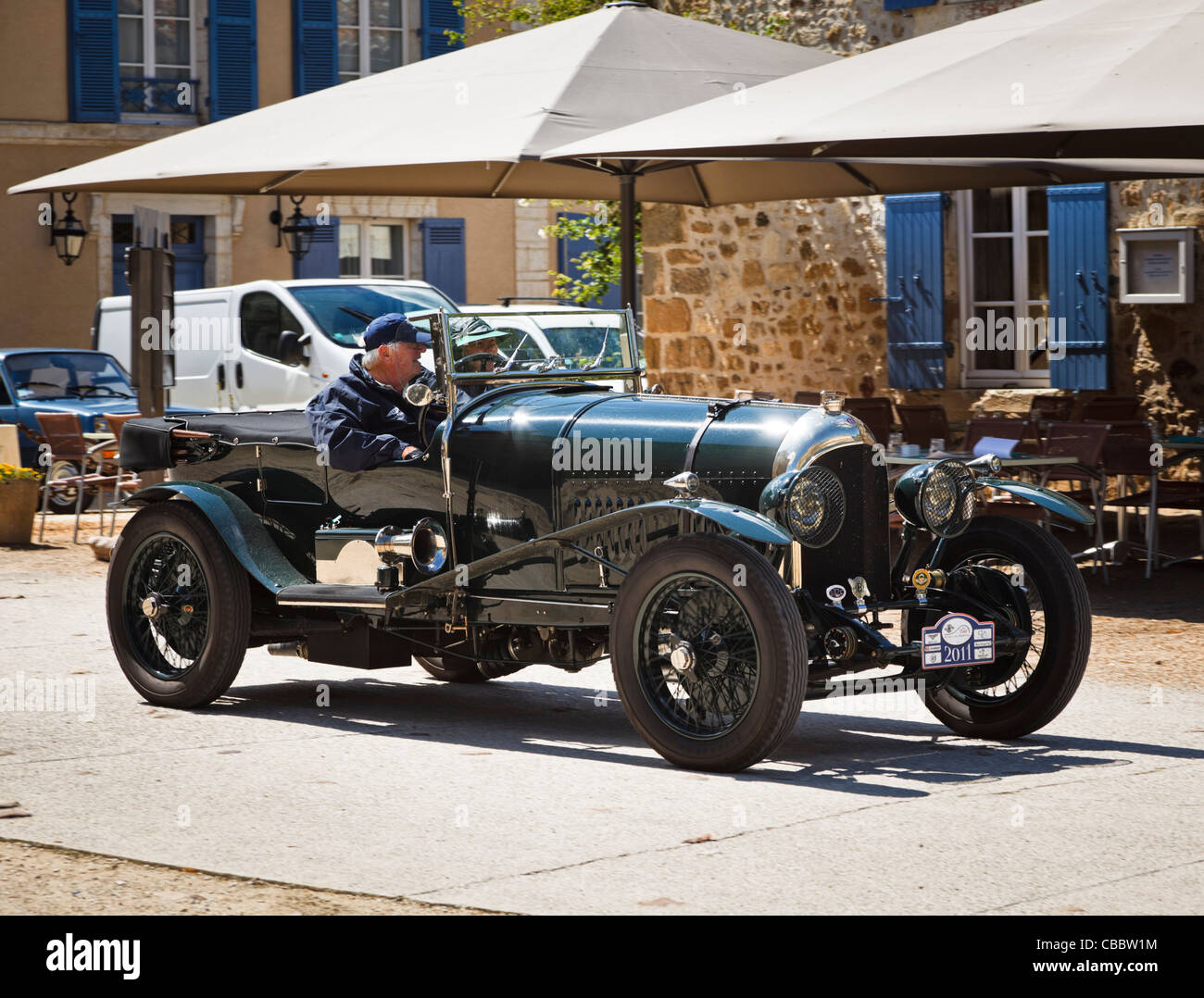 Oldtimer - Oldtimer Bentley Stockbild