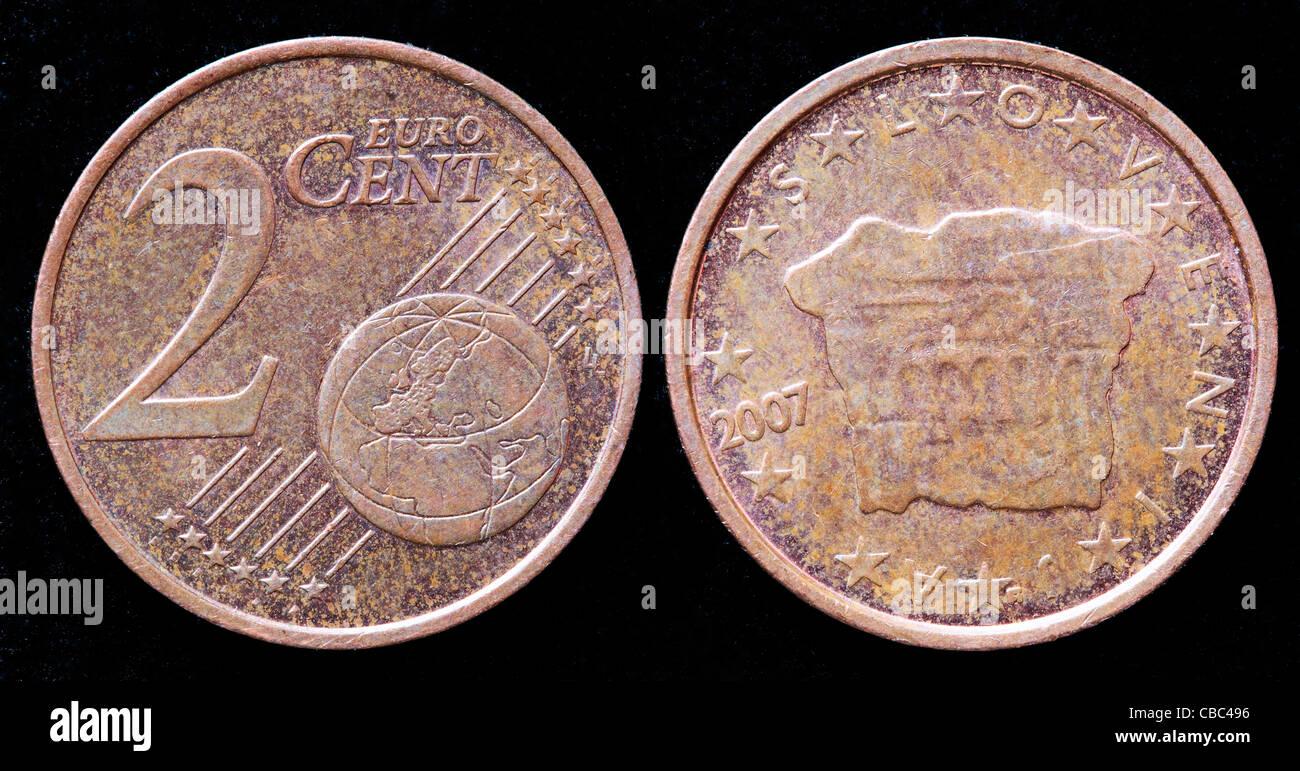 Zwei Euro Cent Münze Stockfotos Zwei Euro Cent Münze Bilder Alamy