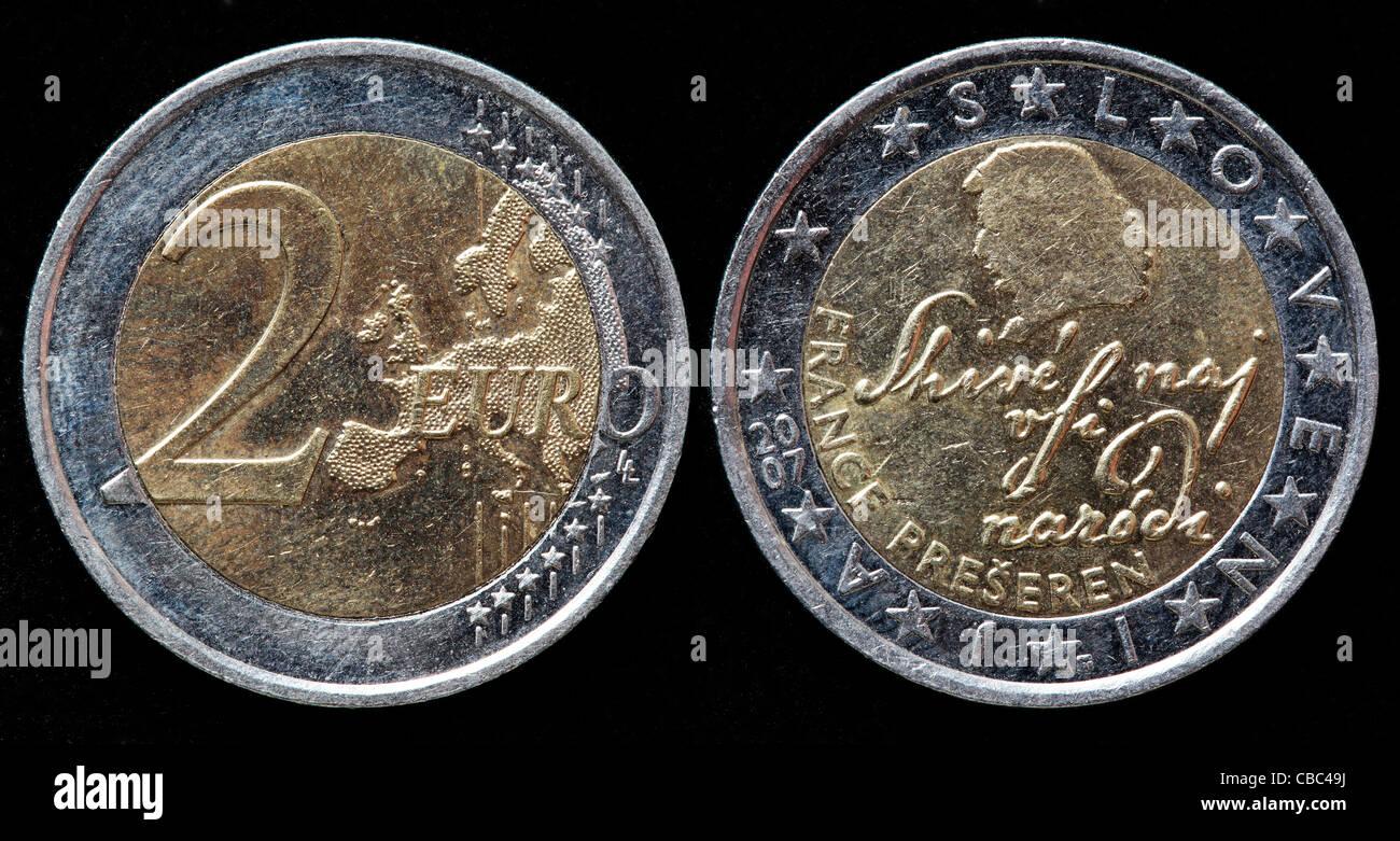 Coin Money Slovenia Stockfotos Coin Money Slovenia Bilder Alamy
