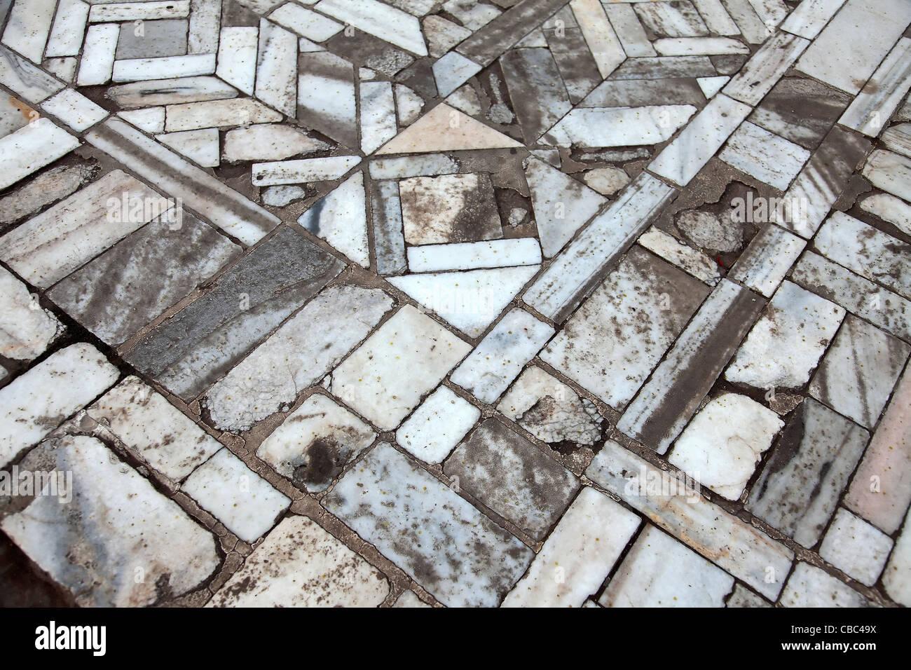 Marmor Platten Fliesen Bodenbeläge Muster Fatehpur Sikri Architektur ...