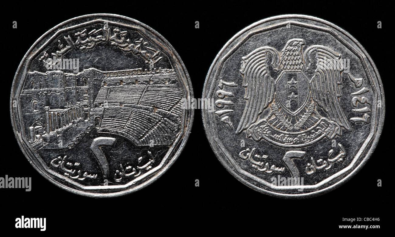 2 Pfund Münze Syrien 1996 Stockfoto Bild 41448994 Alamy