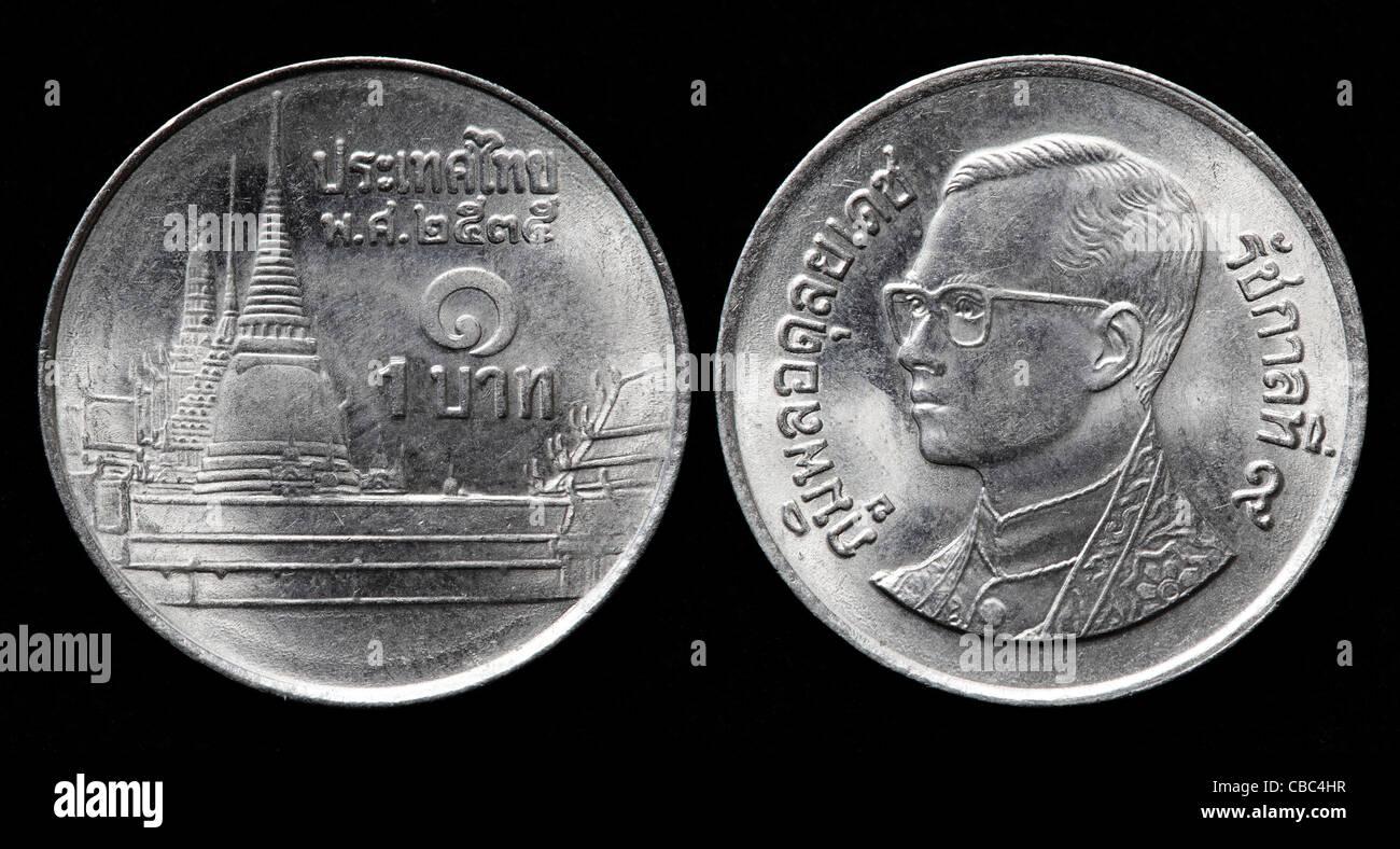 One Baht Coins Stockfotos One Baht Coins Bilder Alamy