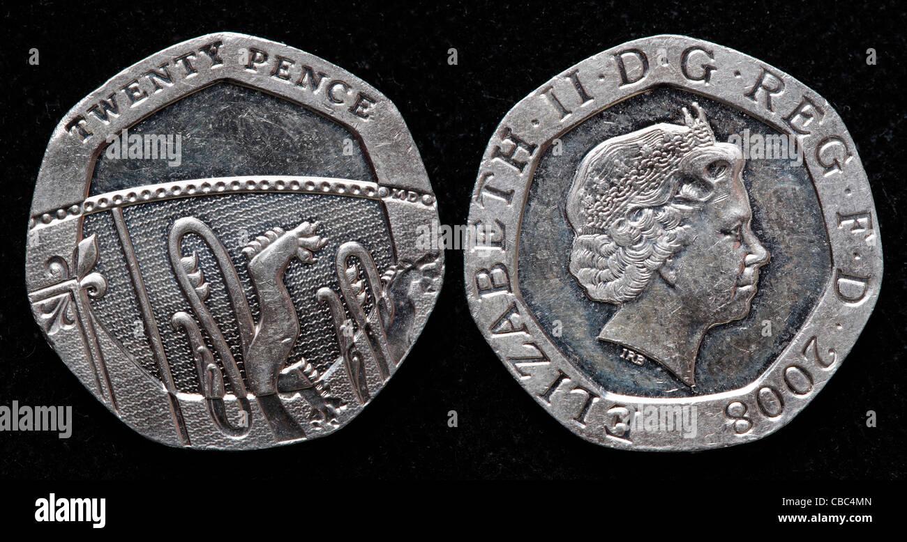 2008 20 Pence Coin Stockfotos 2008 20 Pence Coin Bilder Alamy