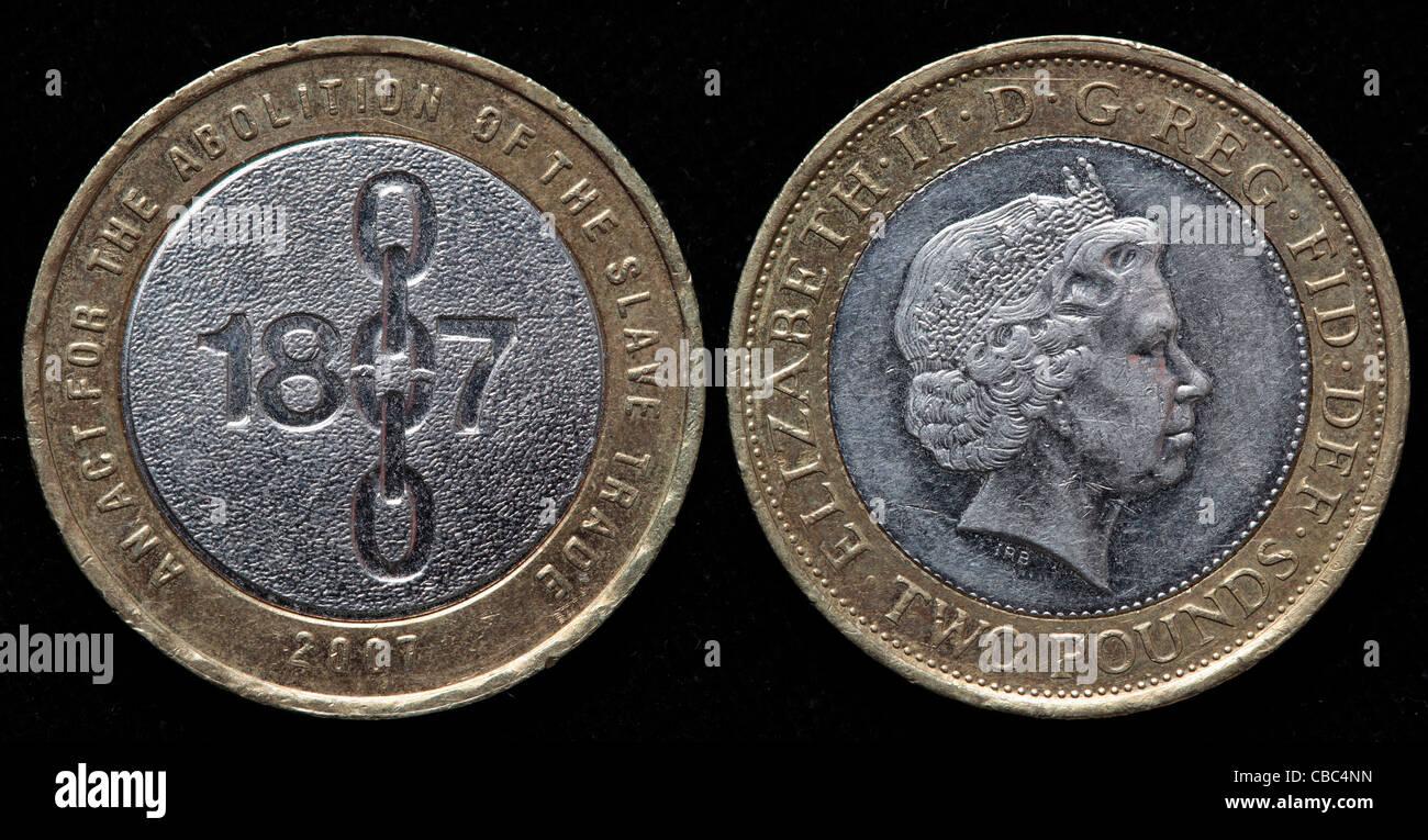 2 Pfund Münze Uk 2007 Stockfoto Bild 41449121 Alamy