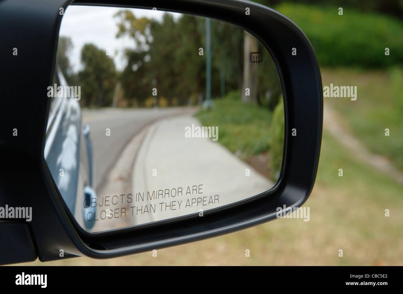 Außenspiegel Stockbild