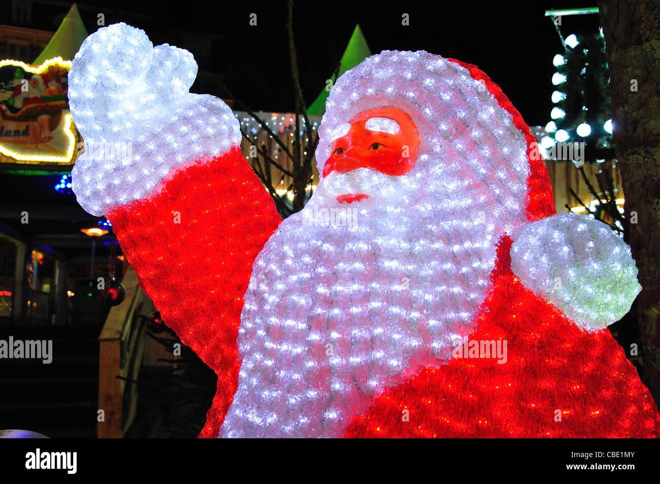 Crystal Led Vater Zu Weihnachten Weihnachtsmarkt Rembrandtplein