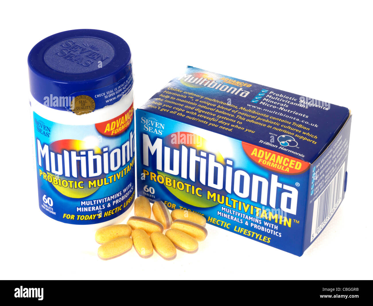 Multivitamine Stockbild