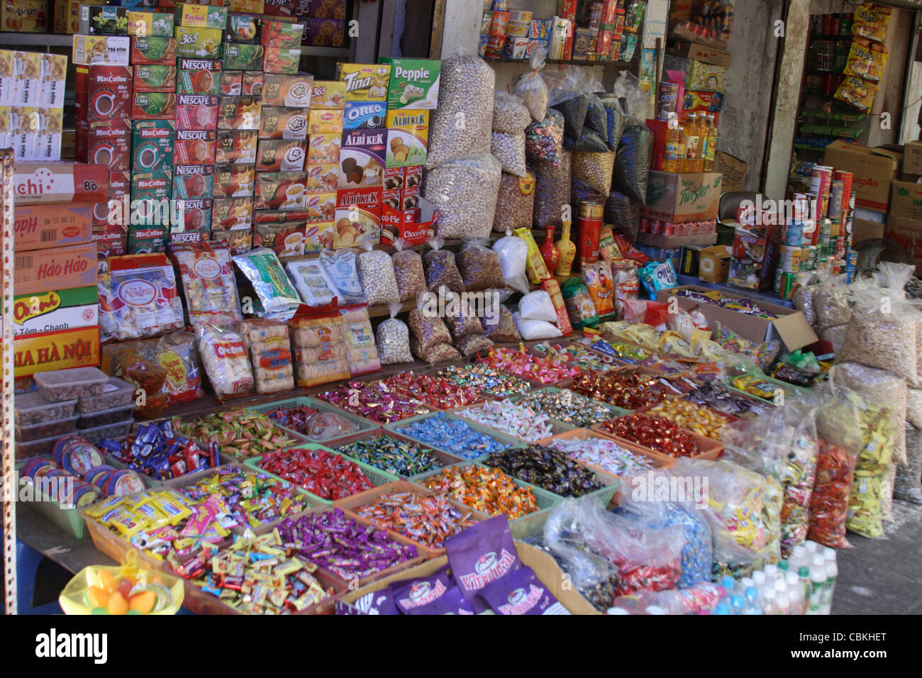 Candy Store Front Stockfotos & Candy Store Front Bilder - Alamy
