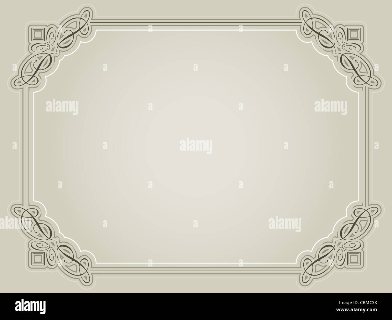 Very Decorative Certificate Stockfotos & Very Decorative Certificate ...