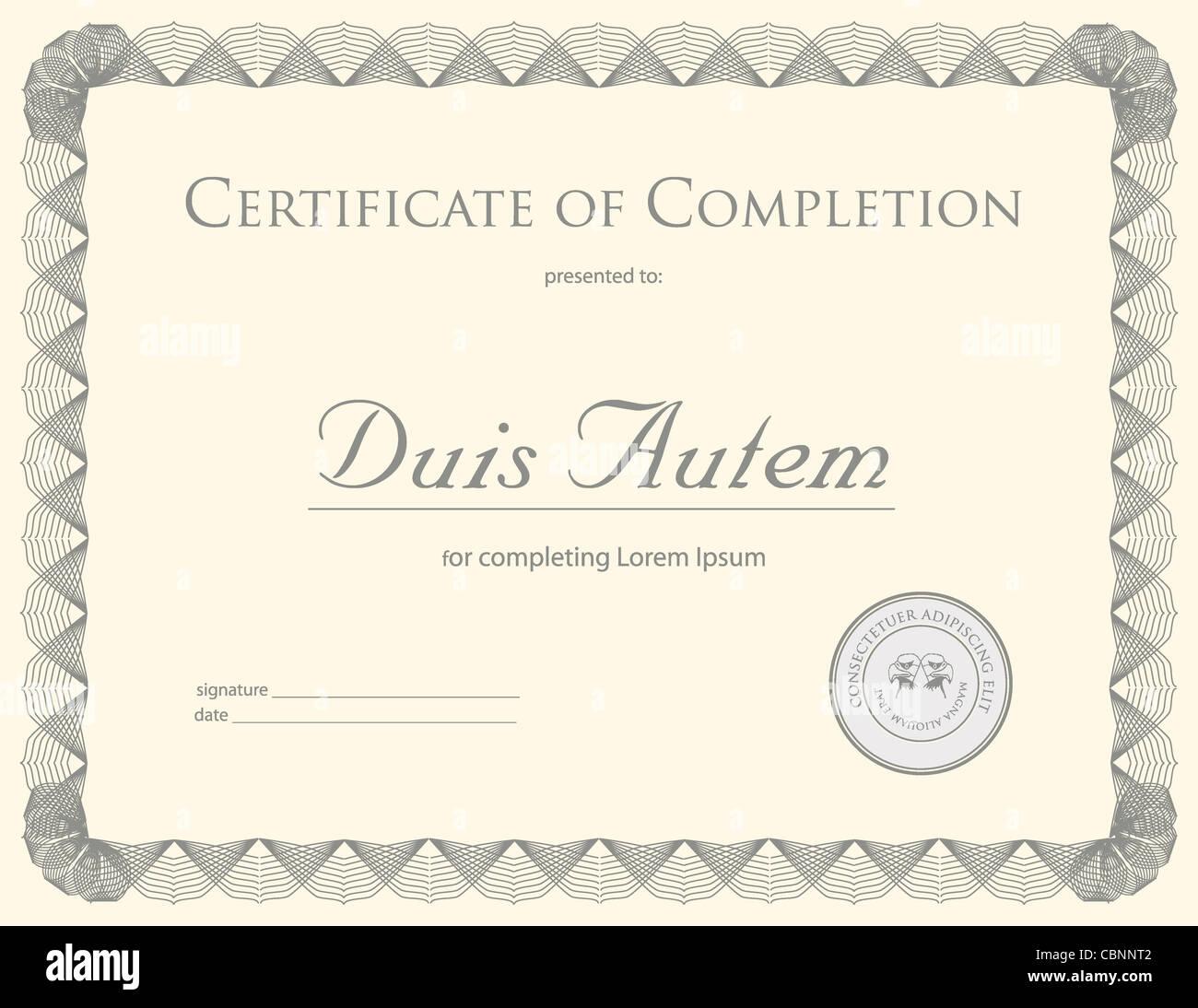 Tolle Kurs Zertifikatvorlage Zeitgenössisch - Beispiel Business ...