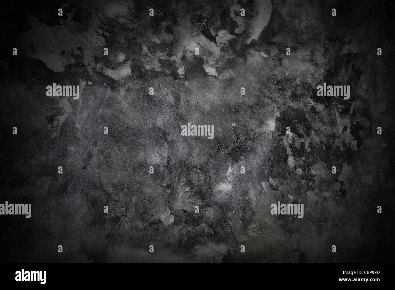 Dunklen grauen Beton Grunge Texturen Hintergrund für Ihr Kunstwerk Stockbild