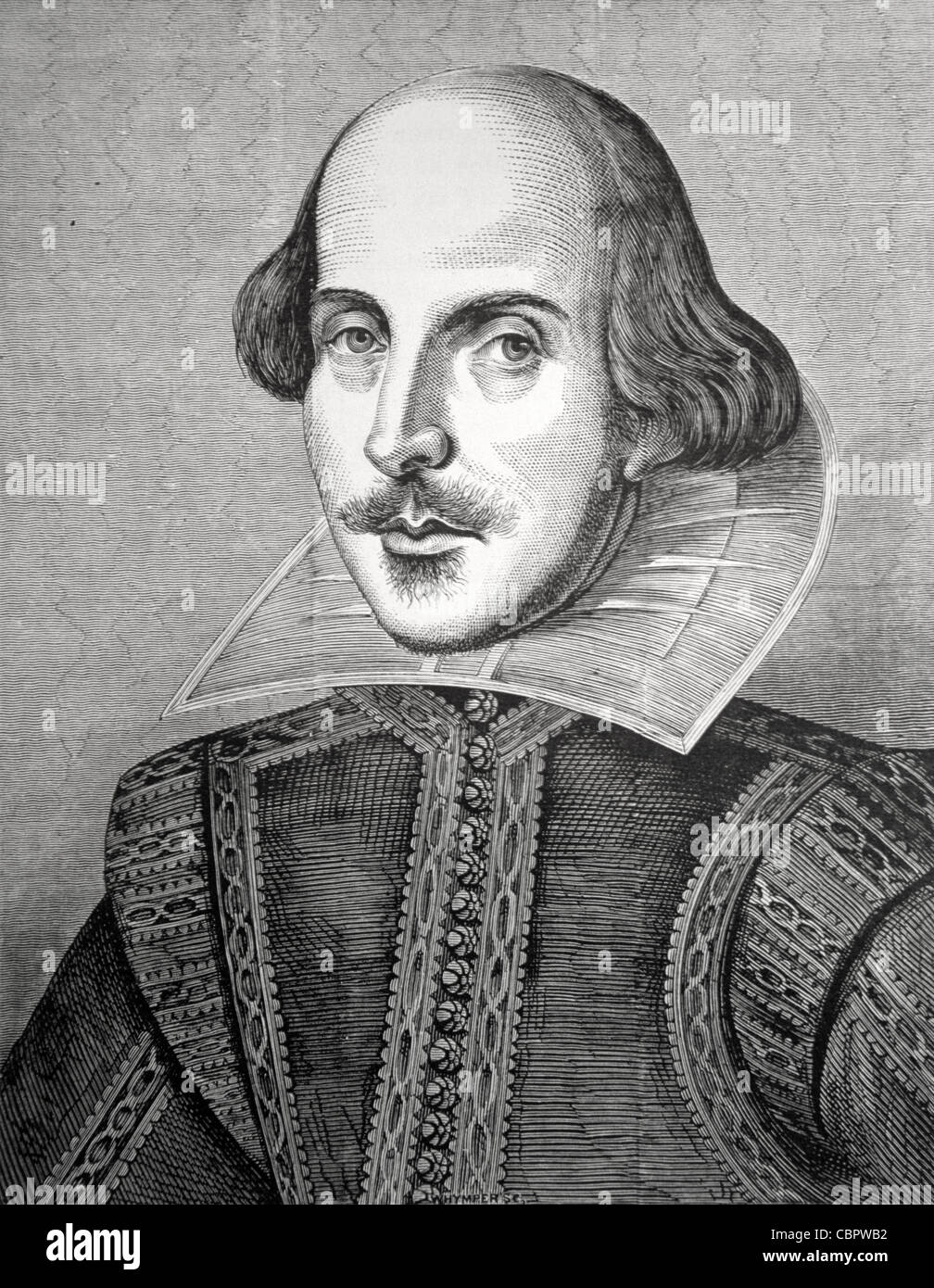 Shakespeare Portrait Stockfotos & Shakespeare Portrait Bilder - Alamy