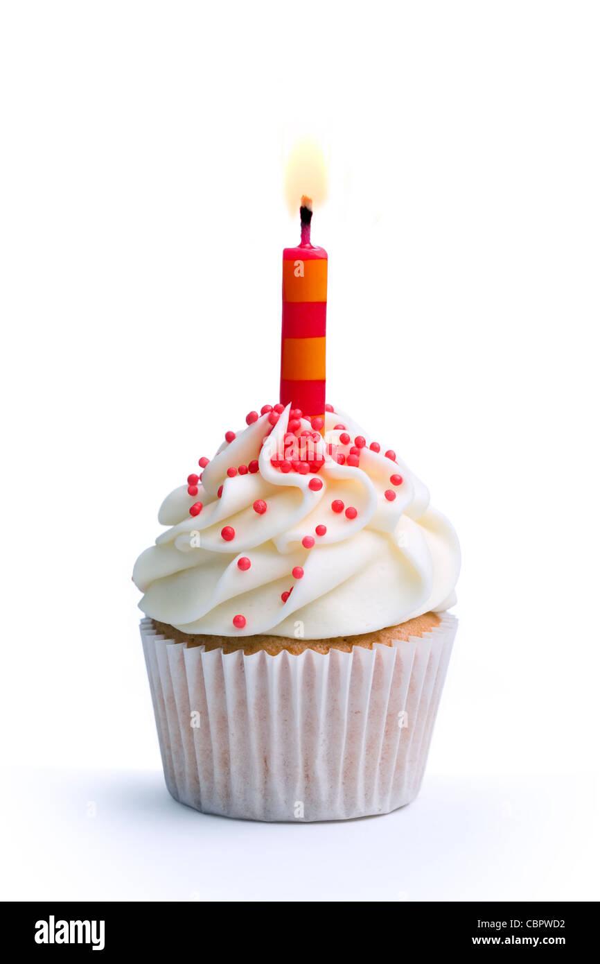 Geburtstag Cupcake Stockfoto Bild 41684862 Alamy