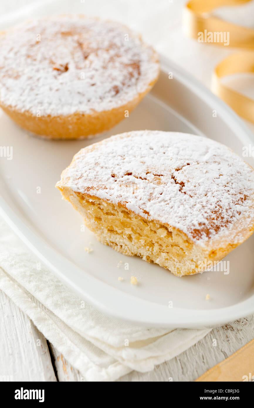 Bocconotti, einem traditionellen Kuchen aus Süditalien Stockbild