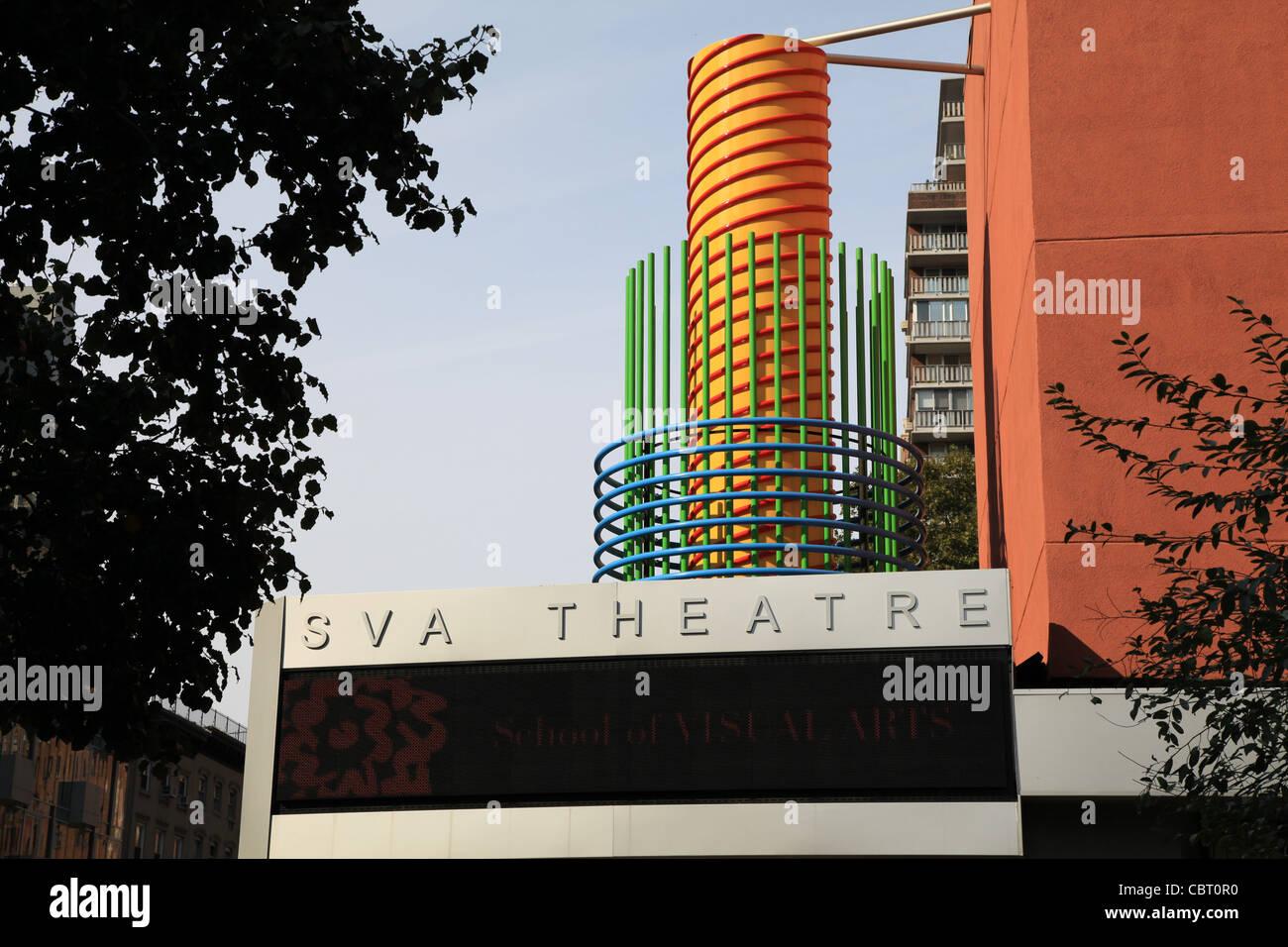 SVA Theater in New York City Stockbild