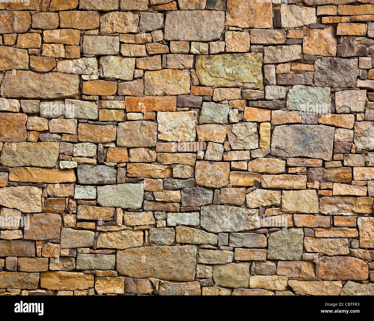Steinmauer Textur Stockbild