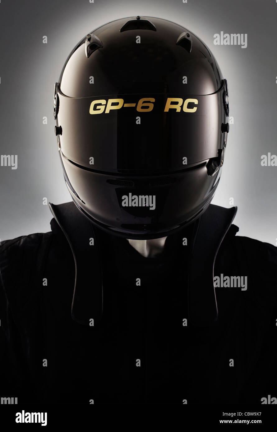 Rennfahrer Stockbild