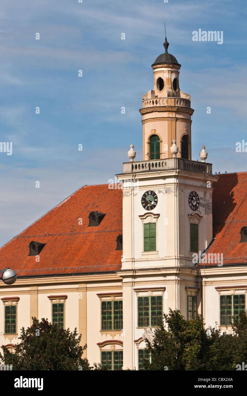 Kroatien, Slawonien, Valpovo. Schloss Prandau-Norman im Osten Slawoniens, Valpovo. Stockbild