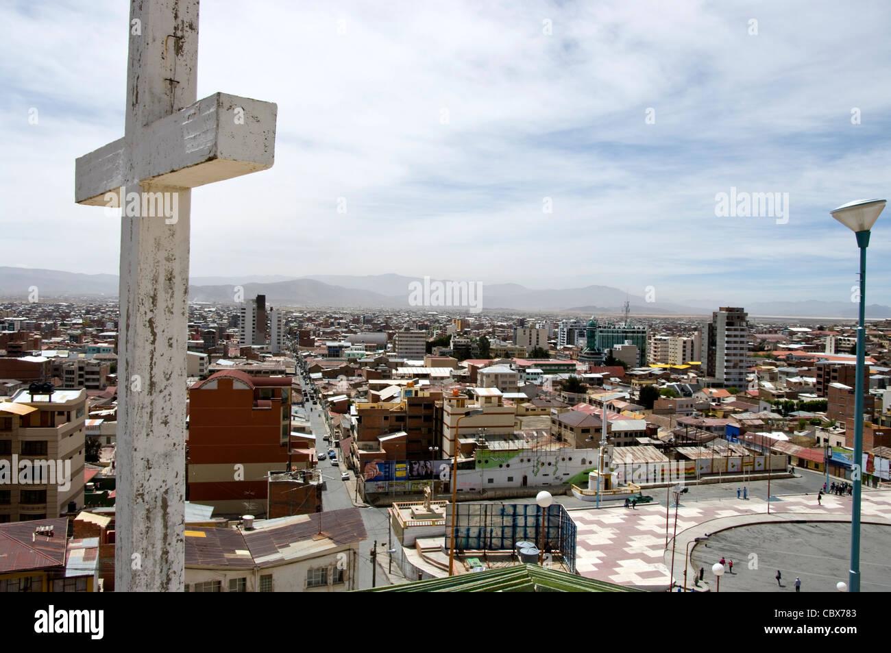 Oruro Stadt