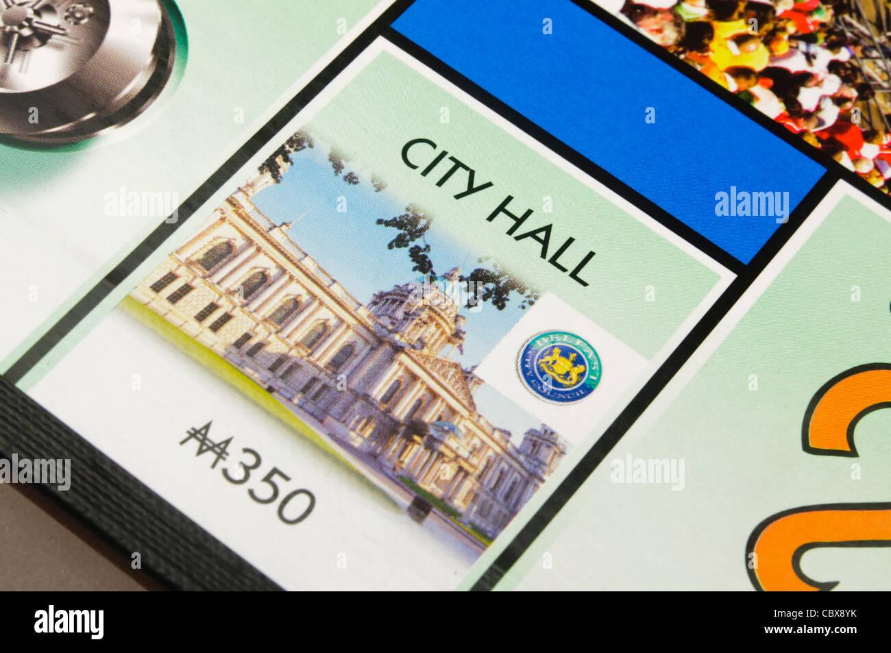 Belfast-Monopol: Rathaus Stockbild