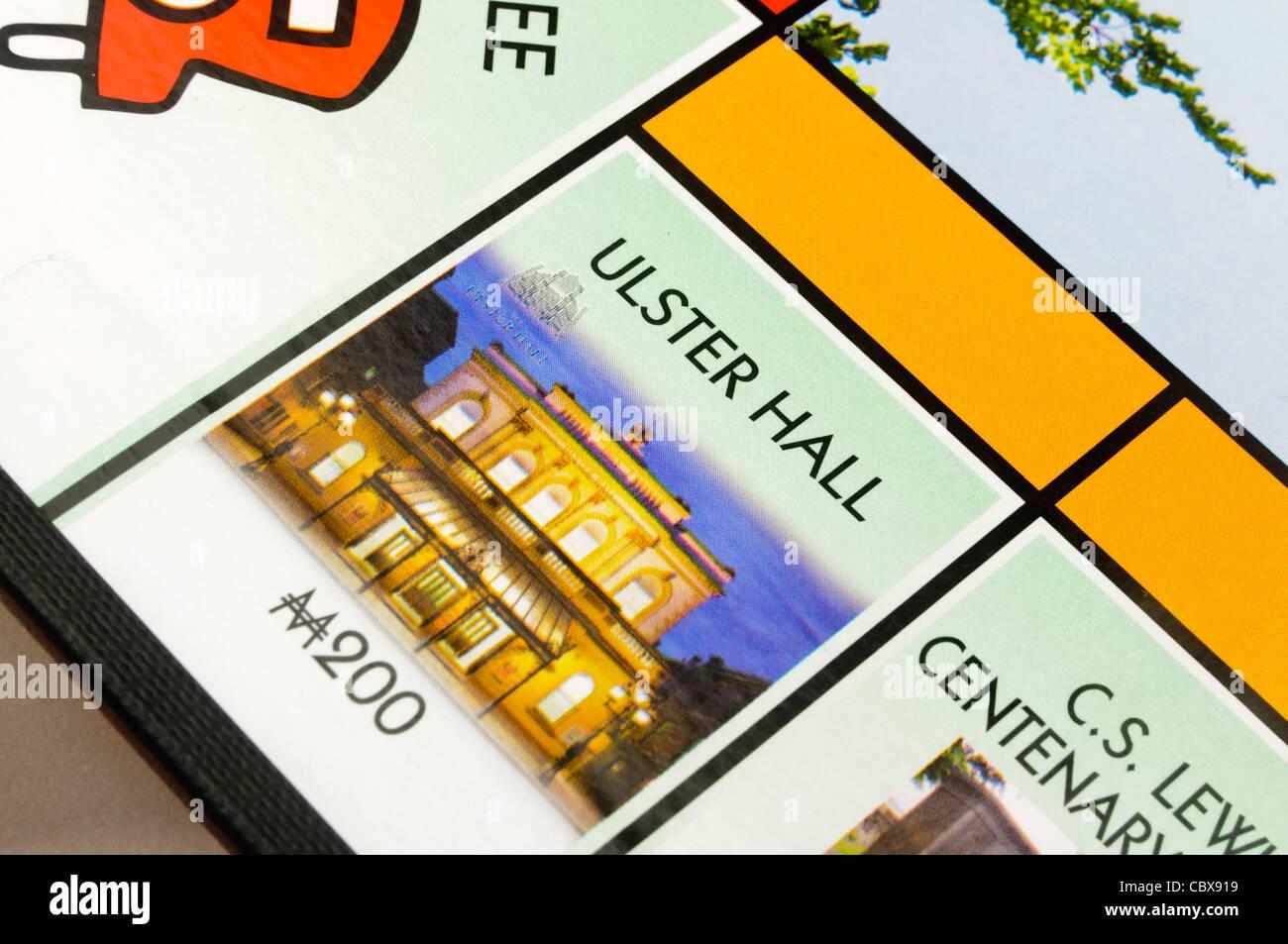 Belfast-Monopol: Ulster Hall Stockbild
