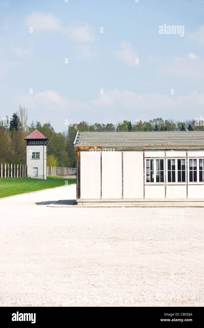 Dachau Weltkrieg Konzentration in Deutschland Lager Stockbild