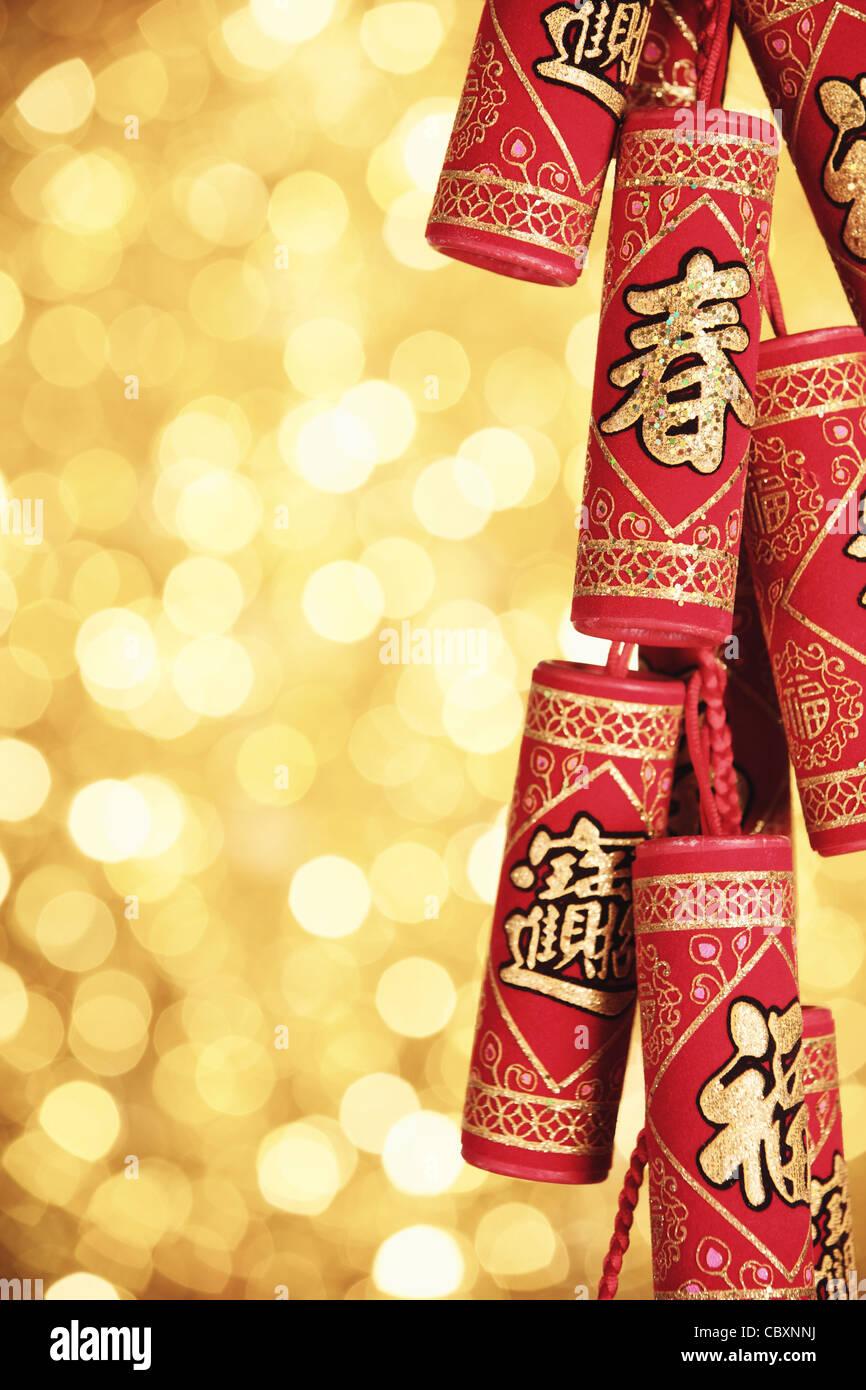 Chinesische Kracher Stockfotos & Chinesische Kracher Bilder - Alamy