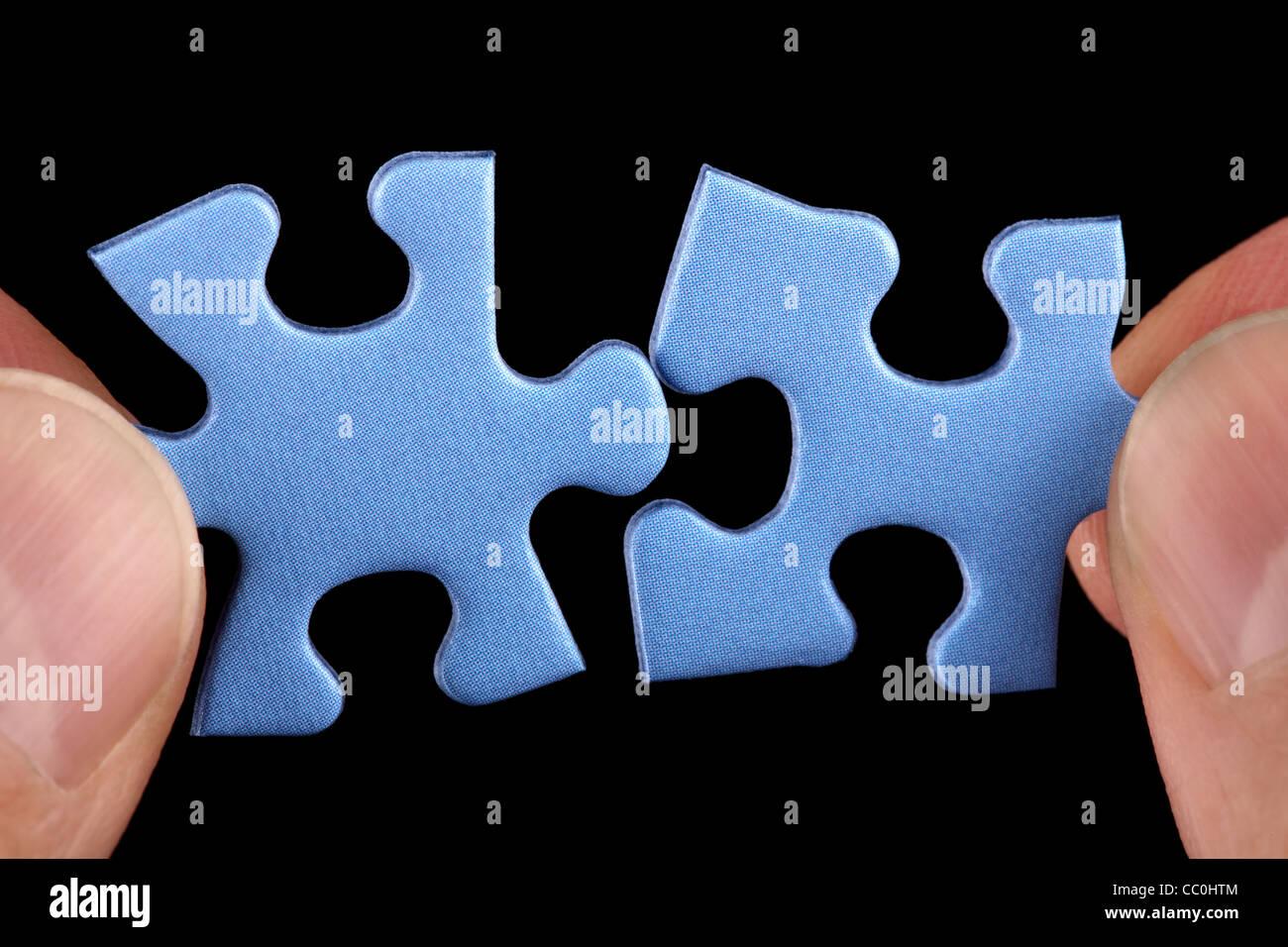 Business-Lösungen Stockbild
