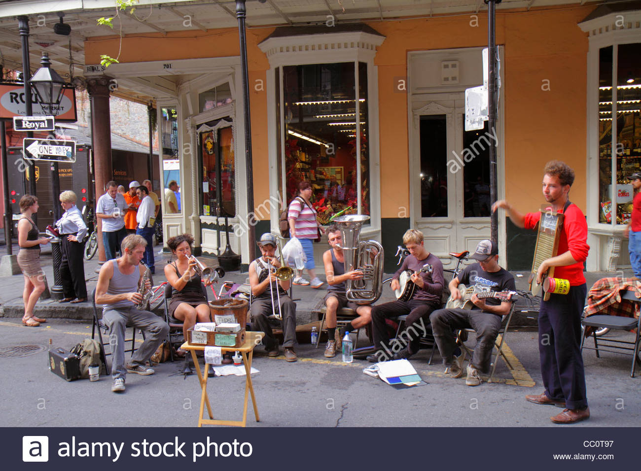 New Orleans Usa Royal Street Stockfotos & New Orleans Usa Royal ...