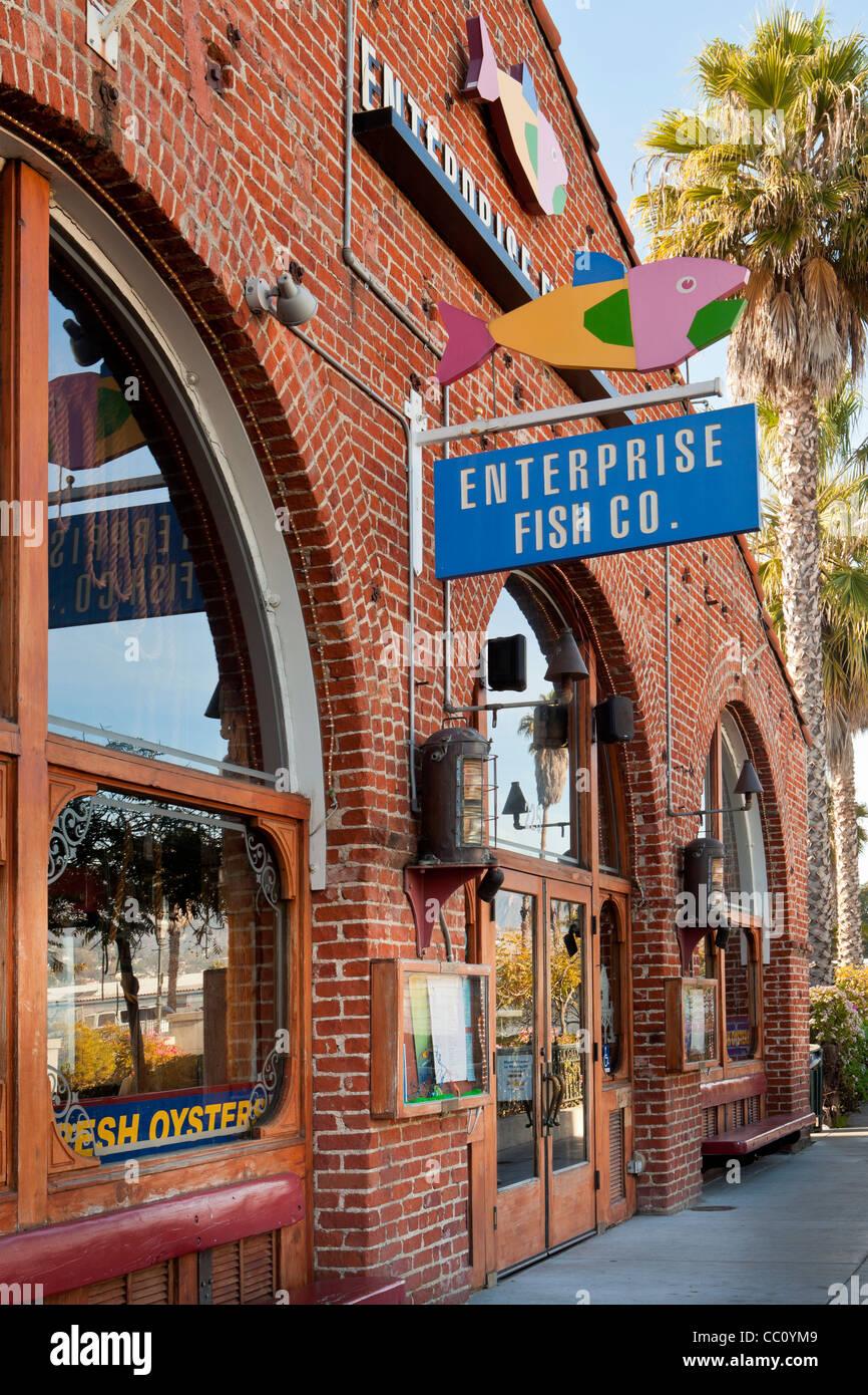 Funk Zone Von Fisch Unternehmens Santa Barbara California