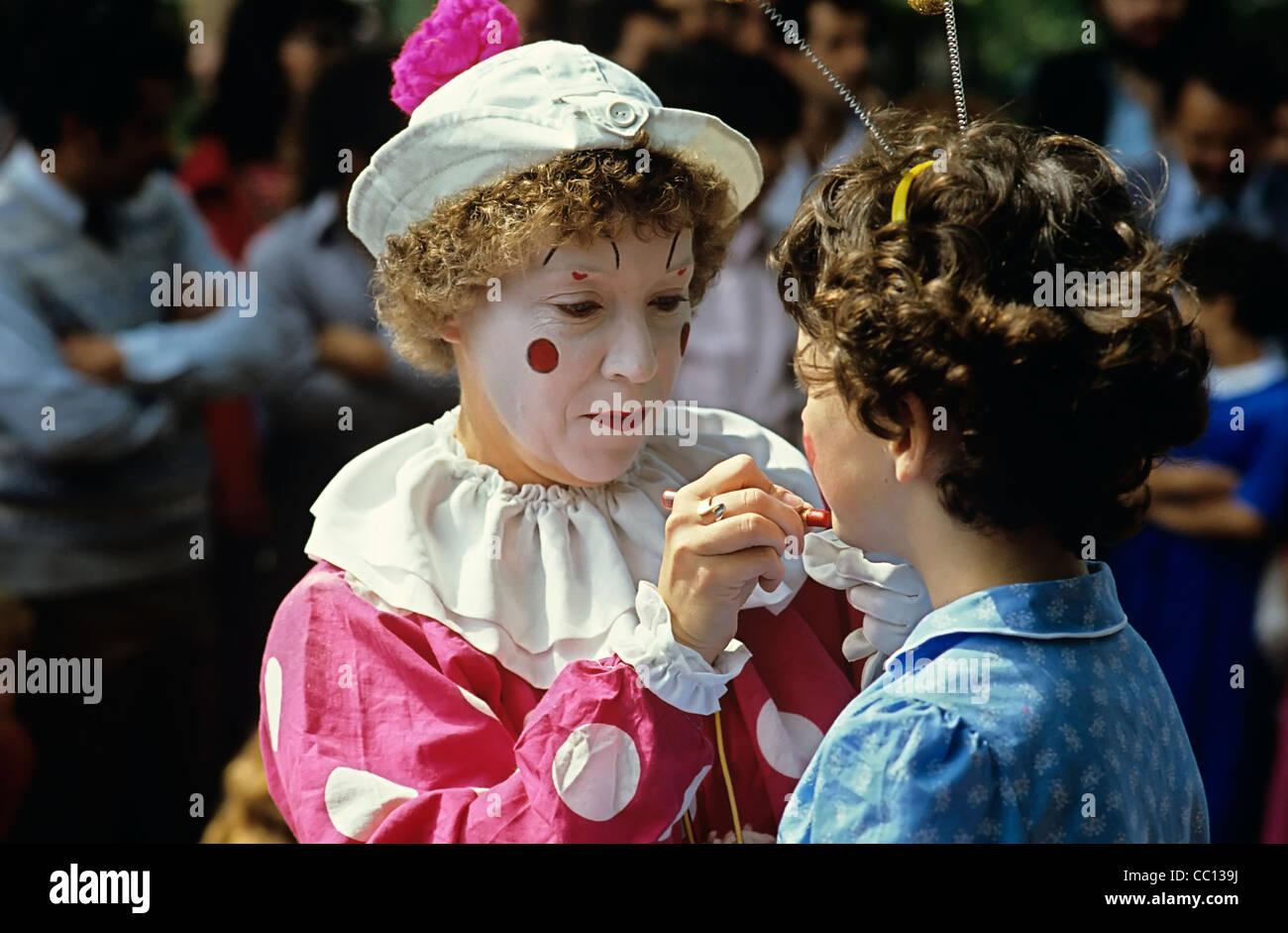 Clown Grossbritannien Stockfotos Clown Grossbritannien Bilder Alamy