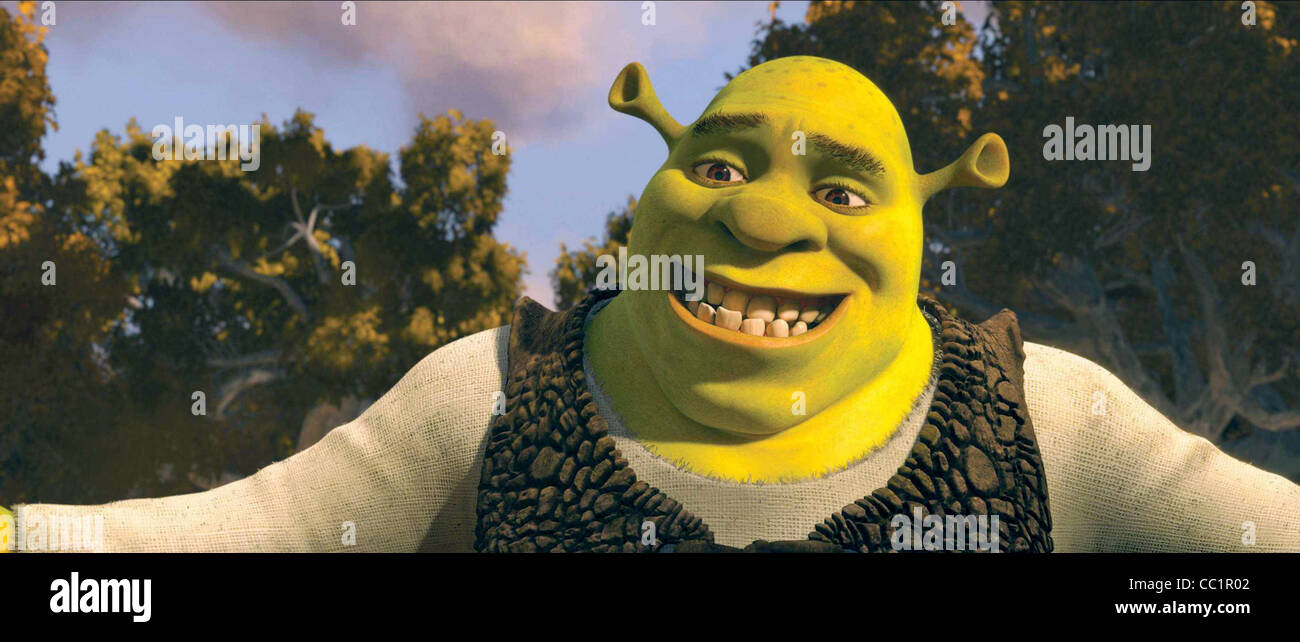 SHREK-SHREK FOREVER AFTER (2010) Stockbild