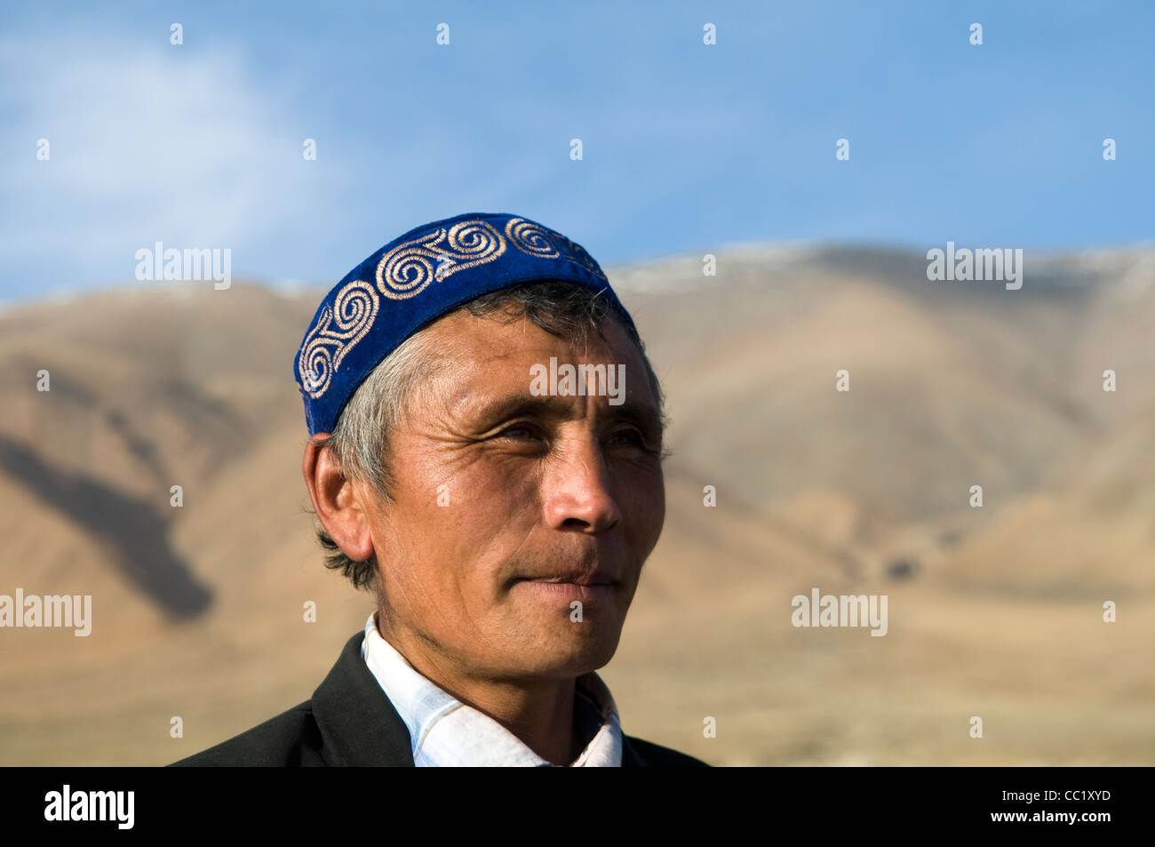 Porträt eines kasachischen einen traditionellen kasachischen Hut Stockfoto, Bild: 41839713 - Alamy