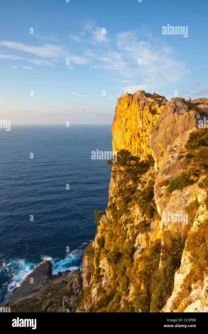 Cap de Formentor, Mallorca, Balearen, Spanien Stockbild