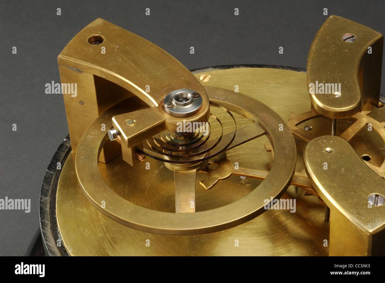 Sehen Sie sich. Beispiel für die Spirale Heyguens Stockbild