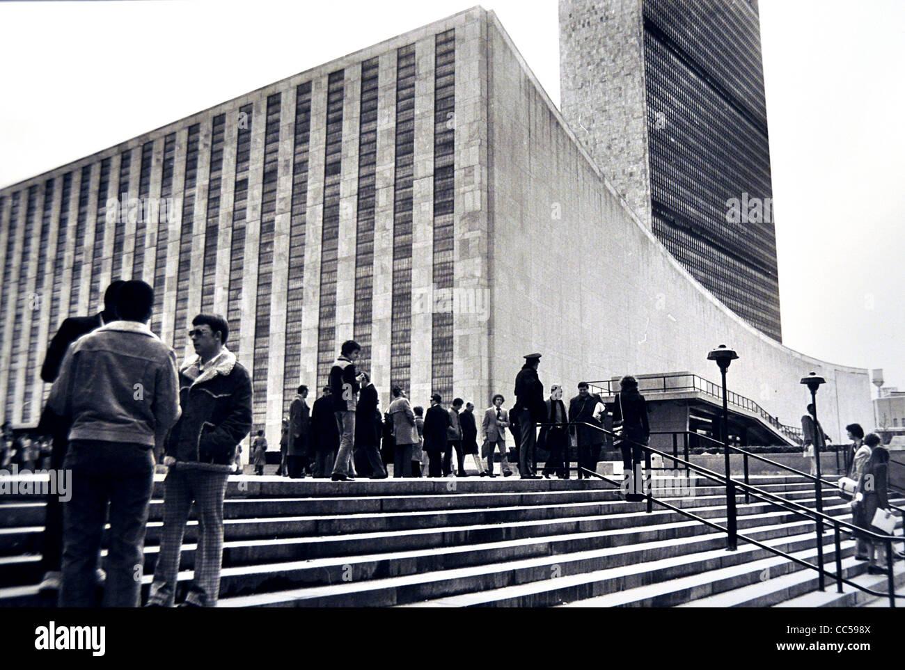 Das UN-Gebäude New York USA Stockbild