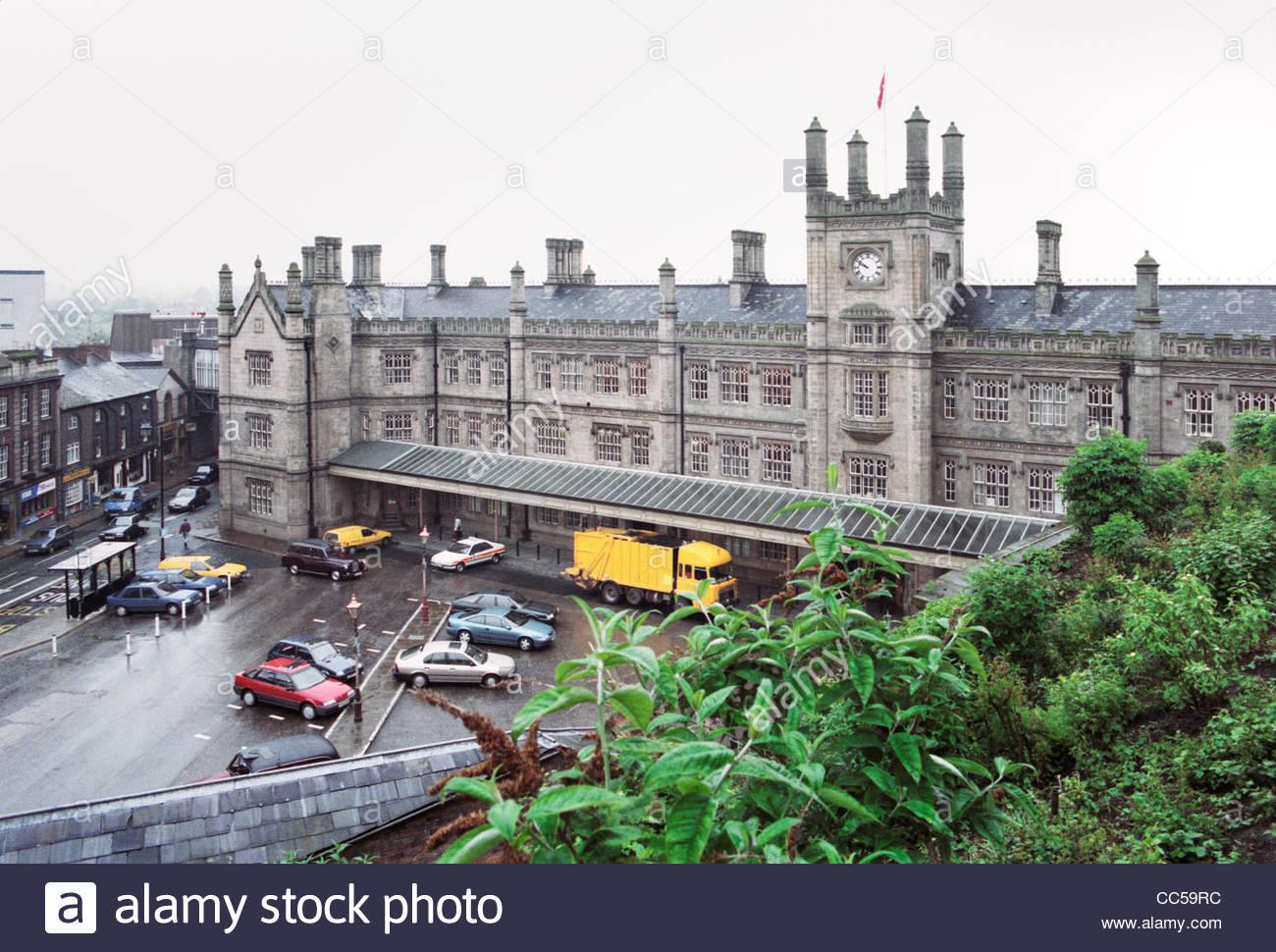Shrewsbury, Shropshire, England, Großbritannien 1994 Stockbild