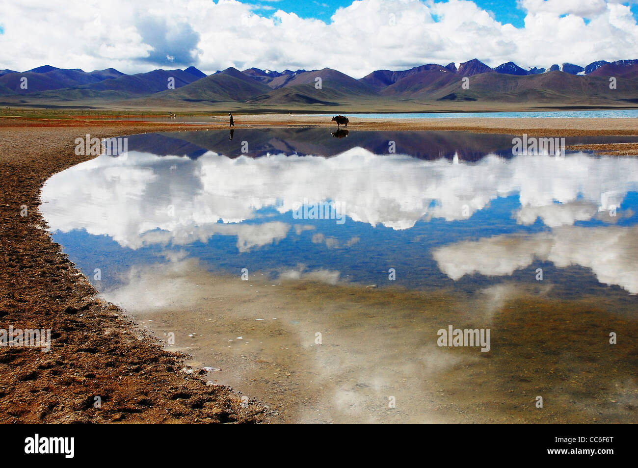 Namtso See, Lhasa, Tibet, China Stockbild