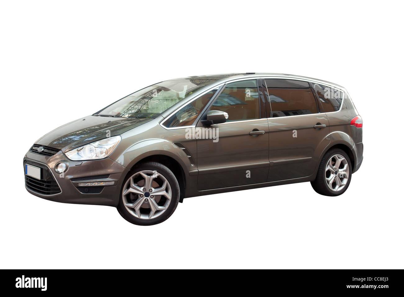 Europäischen Familienauto, neues Modell 2012, Diesel, wirtschaftliche Stockbild